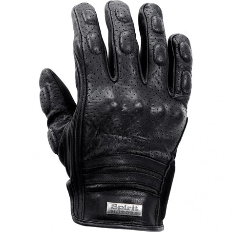 Spirit Motor | Leather Glove, Perforated 1.0 Black