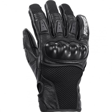 Firefox | Sport Leather/Textile Glove 1.0 Black