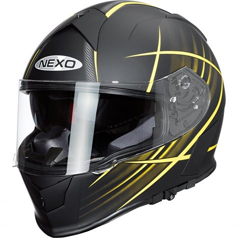Nexo | Full-Face Helmet Sport Yellow Design