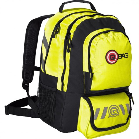 Qbag | BackPack 10 32 Liters Storage Space Neon Yellow