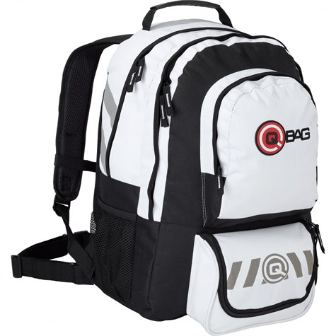 Qbag | BackPack 10 32 Liters Storage Space Black/White