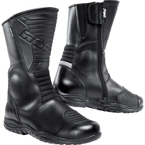 Road | Touring Leather Boots 1.0 Black