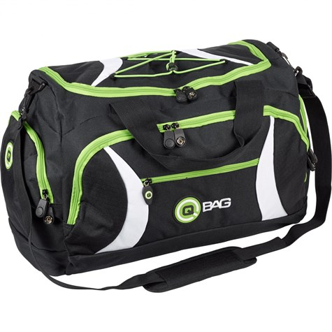 Qbag | Rear/Sports Bag 40 Liters Black/Green