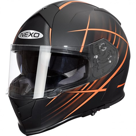 Nexo | Full-Face Helmet Sport Orange Design