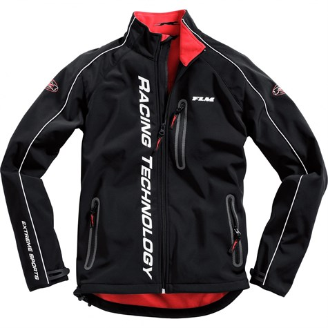 FLM | Motor Sports Soft Shell Jacket 1.0 Red