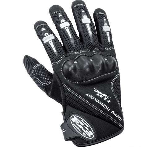 FLM | Sports Leather/Textile Glove 1.0 Black