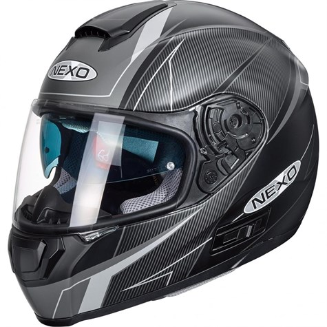 Nexo | Full-Face Helmet Comfort Black/Grey