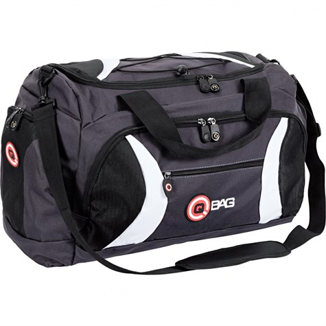 Qbag | Rear/Sports Bag 40 Liters Black/Grey/White