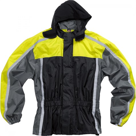 Road | Textile rain jacket 2.0 Yellow