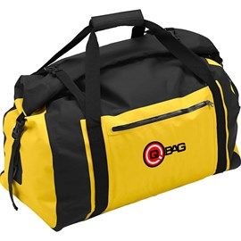 Qbag | Tailbag Waterproff 04 60 Lt Black-Yellow