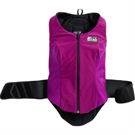 Safe Max I Ladies Reversible Vest with Back Protector 1.0 Class 2 Vio
