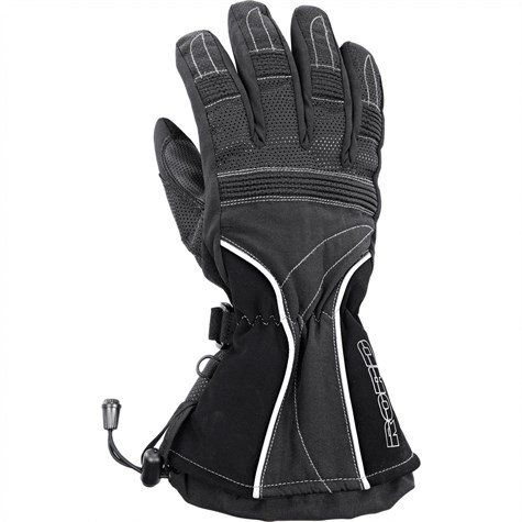 Road | Tour Leather/Textile Glove 2.0 Black